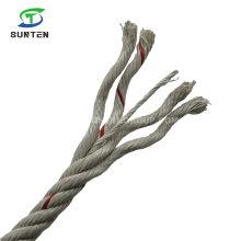 3/4 Strand PP Mono/Polypropylene/Plastic/Fishing/Marine/Mooring/Twist/Twisted Danline Rope for Myanmar