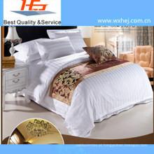 Conjunto de capa de edredão de listra de estilo de gravata / colcha de cama de solteiro