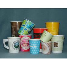 Einweg-Trinkpapier Kaffeetassen