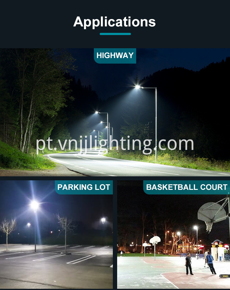 LED Shoebox Area Light Parking Lot Lighting - 1 _ 12