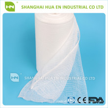 with CE FDA ISO certificated China high absorbent medical gauze roll