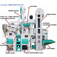 24T por dia preço de planta de fábrica de arroz da máquina de moinho de arroz
