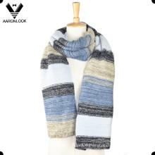 2016 Fashion Colorful Stripe Patterned Winter Men Scarf