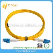 Singlemode Zipcord 2ft LC/LC Fiber Optic Jumper