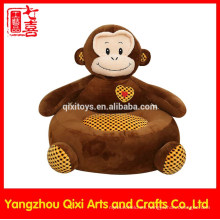 Las sillas rellenas animal al por mayor del animal relleno del sofá para los niños rellenaron y felpa el sofá suave del cabrito del mono