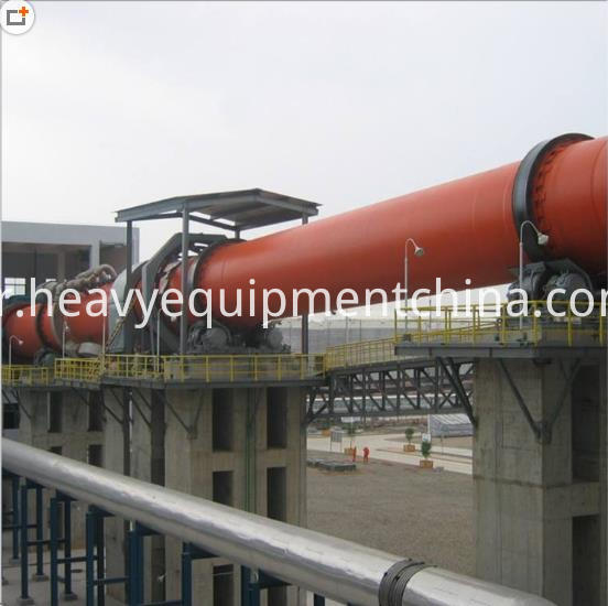 Rotary kiln for quicklime