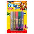 bright coloured art card craft making glitter glue