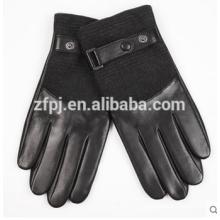 Guantes de piel de cordero personalizados invierno invierno