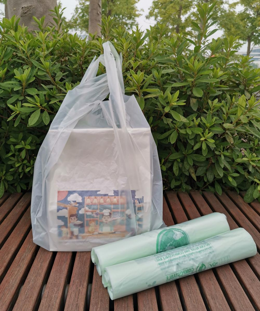 BPI Certified Plastic Shopping bags