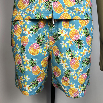 Hawaii Style Printed Gemusterte Herren Beach Shorts