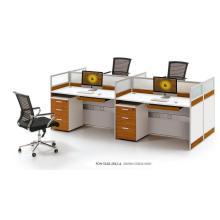 Tailles standard d'ordinateur 4 places de meubles de poste de travail (FOH-SS18-2812-A)