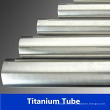Asme Sb338 Tubo de titanio para el intercambiador de calor