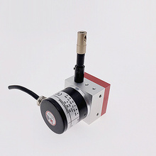 Potenciómetro de potenciómetros de cadena de rango de 0-600 mm de salida de 4-20 mA