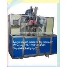 Máquina de perforación y llenado de cepillos CNC de 5 ejes (2 cabezales de perforación y 1 de llenado)