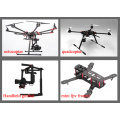 Fertigen Sie M3 bunten Aluminium-runden Abstandshalter für Drohne / UAV / FPV / Hubschrauber besonders an