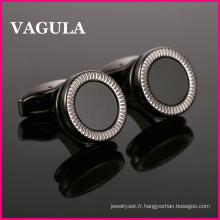 Boutons de manchette métal VAGULA haute qualité (L51511)