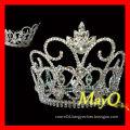 Shining large diamond pageant tiara crown
