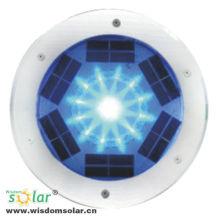 Populaire CE RVB couleur changeante brique solaire LED lumière