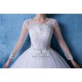 Plus Size Long Sleeves Ball Gown Wedding Dress Bridal Dress China