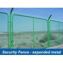 Security Fence Systems - Expanded Metal (HP-FENCE0110)