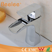 Brassware Design Water Saving Basin Mixer Taps with Single Handle
