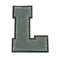 Chenille Varsity Letter L Bordados Applique Patch