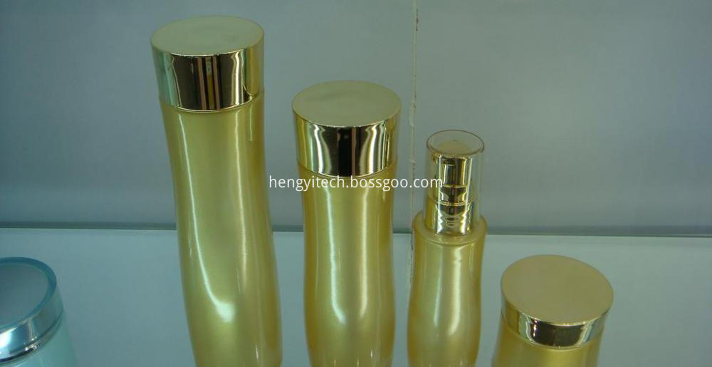 cosmetic glass bottle
