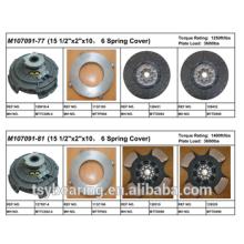 "American Mack Truck Parts 15 1/2 ""Kit de embrague de hierro fundido M18391-77"