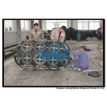 Diâmetro 1000mm x comprimento 2000mm pneumático Fender
