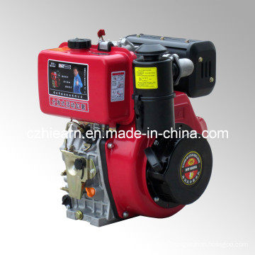 Diesel Engine with Oil Bath Air Filter Red Color (HR188FAE)