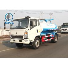 5-6CBM Suctionage Suction Truck Sinotruk howo