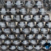 Raccords de tuyau en acier au carbone Bw A234wpb réducteur