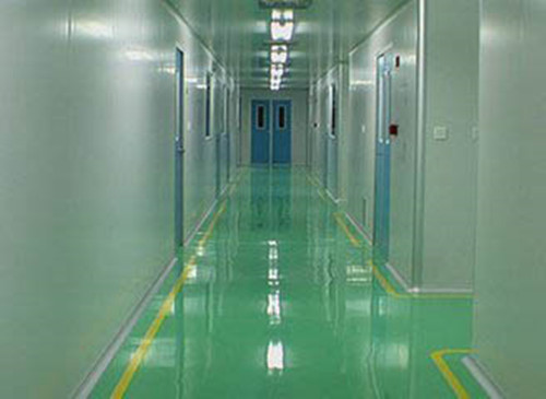 Hospital Matte Wear Resistant Epoxy Flat Coating