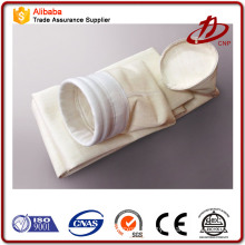 Superhigh temperature glass fiber woven fabric filter bag