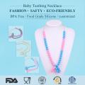 Silikon Baby Kinderkrankheiten Schmuck Bead Halskette