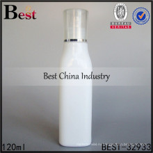 белый керамические эфирное масло бутылка, квадратная форма 120ml стеклянные бутылки