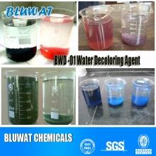 Productos químicos blanqueadores de color para ETP