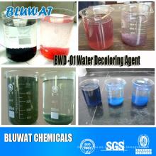 Teñir el proceso de tratamiento de aguas residuales de Bwd-01