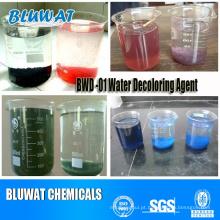 Processo de tratamento de águas residuais de corante de Bwd-01