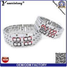 YXL-149 2016 новый дизайн лавы бинарные LED Men′s часы цифровой пара любовник наручные часы роскошь Спорт случайный LED часы