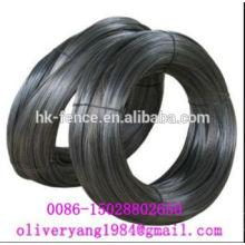 vinculante 0.5-6mm negro hilo recocido suave de alambre de hierro para unión o construcción