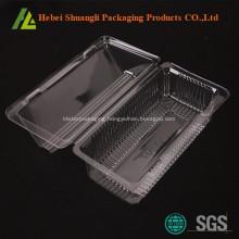 Clear transparent cheap plastic bakery boxes