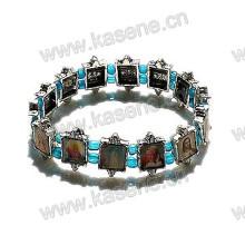 Holy Christian Picutres Metal Alloy Saints Bracelet