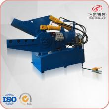 Máquina de corte hidráulica de cocodrilo de tubo de acero