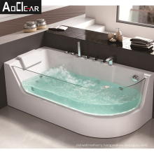 home whirlpool heated soaking tub tubs with tough glass