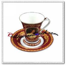 B127 200ml Tasses et soucoupes à thé Mona Lisa YAMI 2