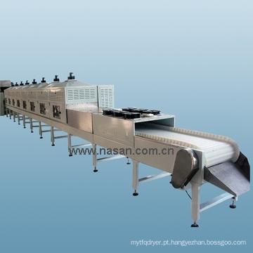 Máquina de secagem de madressilva de microondas Shanghai Nasan
