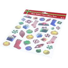 Kids Stickers Factory Merry Christmas Die Out Decorative Custom Kiss Cut Sticker Sheet