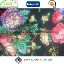 Preços Diretos Da Fábrica 100% Poliéster Tecido de Impressão