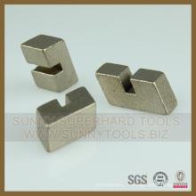 Segment de lame de coupe de granit de diamant d'approvisionnement direct d'usine